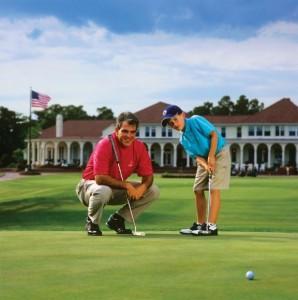 family golf trip at Pinehurst