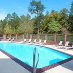 Comfort Inn and Suites pool - Pinehurst Golf Packages