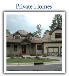 pinehurst golf lodging - private home rentals