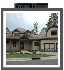 pinehurst golf lodging - private home rentals